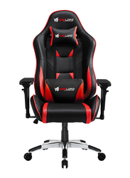 Warlord Phantom Gaming Chair, Black/Red