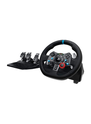 Logitech G29 Driving Force Racing Wheel for Playstation PS3 PS4, Black/Blue
