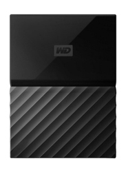 Western Digital 1TB HDD My Passport Portable External Hard Drive, USB 3.0, WDBYNN0010BBK, Black