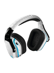 Logitech G933 Artemis Spectrum Gaming Wired and Wireless Over-Ear Noise Cancelling Headphones, White