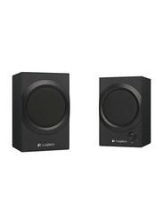Logitech Z240 2.0 Multimedia Speakers, Black