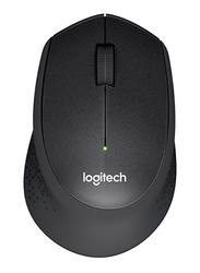 Logitech M330 Silent Plus 2.4 Gaz Wireless Mouse, Black