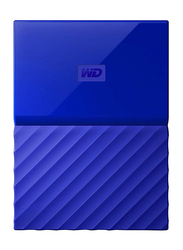 Western Digital 4TB HDD My Passport Portable External Hard Drive, USB 3.0, WDBYFT0040BBL, Blue