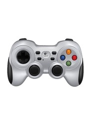 Logitech F710 Wireless Gamepad for PC, Silver