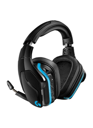 Logitech G935 Wireless Over-Ear 7.1 Surround Lightsync Gaming Headset with Mic, Black