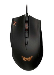 Asus Strix Claw Dark Edition Wired Gaming Mouse, Black