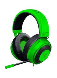 Razer Kraken Pro V2 Oval Ear Edition Gaming Wired Over-Ear Noise Cancelling Headphones, Green
