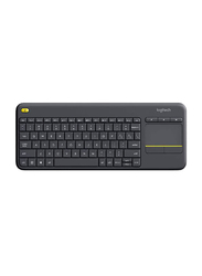 Logitech 5704 K400 Plus Wireless English Keyboard, Black