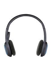 Logitech H600 Wireless On-Ear Noise Cancelling Headphones, Black
