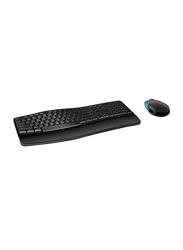 Microsoft Sculpt Comfort Desktop Wireless English Keyboard and Mouse, Black