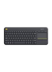 Logitech 5704 K400 Wireless English Keyboard, Black