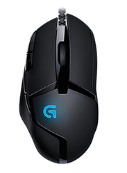 Logitech G402 Hyperion Fury FPS Wired Mouse, Black