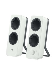 Logitech Z207 2.0 Multi Device Stereo Bluetooth Speaker, White