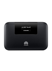 Huawei 5200mAh Wired Power Bank with Micro-USB Input and Mobile WiFi Pro, with 4G LTE and Single LAN Port, Black