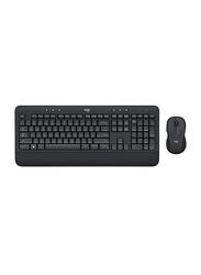 Logitech MK540 Wireless English Keyboard, Black