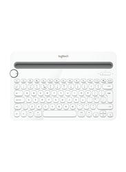 Logitech K480 920-006367 Bluetooth Multi-Device Keyboard, White
