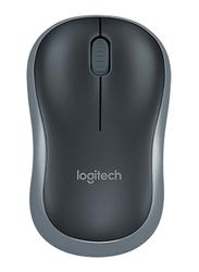 Logitech 910-002235 M185 Wireless Mouse, Black