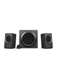 Logitech Z337 2.1 Bold Sound Bluetooth Speaker System, Black