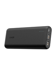 Anker Power Core 20100mAh Wired Fast Charging Portable Power Bank with Micro-USB Input, Black