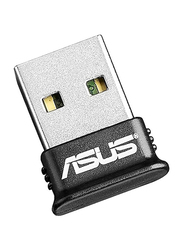 Asus Bluetooth 4.0 USB Adapter, USB BT-400, Black/Silver