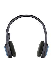 Logitech H600 Wireless On-Ear Noise Cancelling Headset, Black