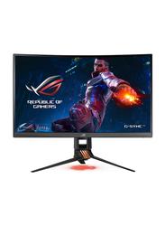 ASUS ROG Swift 27 Inch WQHD LED Curved Gaming Monitor, PG27VQ, Black