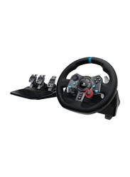 Logitech G29 Driving Force Racing Wheel for PlayStation PS4 PS3 and PC, with Shifter Paddles, 941-000112, Black