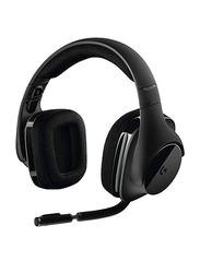 Logitech G533 Gaming Wireless Over-Ear Headphones, Black