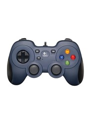 Logitech F310 Gamepad Controllers for PC, Dark Blue