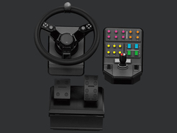 Logitech G Saitek Heavy Equipment Bundle for PC, Black