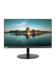 Lenovo ThinkVison 21.5 Inch Full HD LED Monitor, T22i, Black