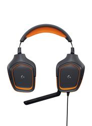 Logitech G231 Over-Ear Gaming Headphones, Black