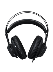 HyperX Cloud Revolver Gaming Wired On-Ear Noise Cancelling Headset, Black