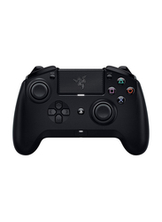 Razer Raiju Tournament Edition Wireless and Wired Gaming Controller for PlayStation PS4, with Mecha Tactile Action Buttons, RZ06-02610100-R3G1, Black