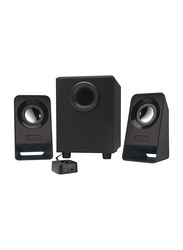 Logitech Z213 Compact 2.1 Multimedia Speaker System, Black