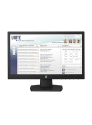HP 18.5 Inch LCD HD Monitor, V197, Black