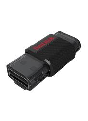 SanDisk 32GB Ultra Dual USB Flash Drive, Black