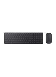 Microsoft 7N9-00001 Bluetooth English Keyboard and Mouse, Black
