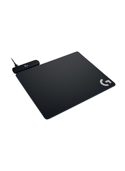 Logitech Powerplay Wireless Charging Gaming Mouse Pad, Black