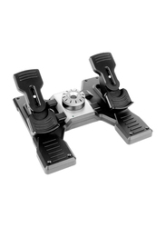 Logitech G Pro Flight Rudder Pedals for PC, Black/Silver