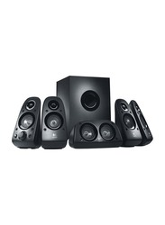 Logitech Z506 5.1 Channel Surround Sound Multimedia Speaker System, Black