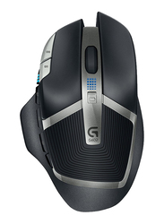 Logitech G602 11 Programmable Buttons Wireless Gaming Mouse, Up to 2500 DPI, Black