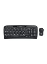 Logitech MK330 Wireless English Keyboard and Mouse, Black