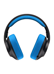 Logitech G233 Prodigy Gaming Wired Over-Ear Noise Cancelling Headphones, Black/Blue