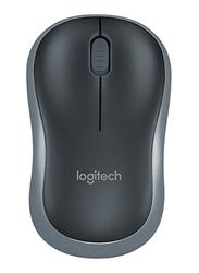 Logitech M185 Wireless Mouse for PC, Black