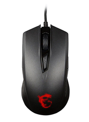 MSI GM40 USB Gaming Wired Mouse, Black