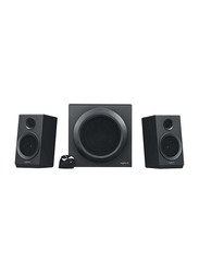 Logitech Z333 Bold Sound Speaker System With Easy-access Volume Control, Black