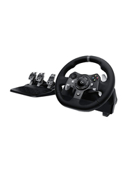 Logitech G920 Driving Force Racing Wheel for Xbox One and PC, Black