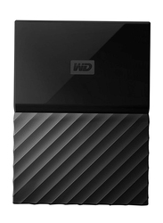 Western Digital 2TB HDD My Passport Portable External Hard Drive, USB 3.0, WDBYFT0020BBK, Black