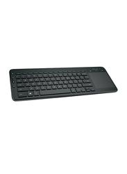 Microsoft AC-010106340 Wireless Arabic Keyboard, Black